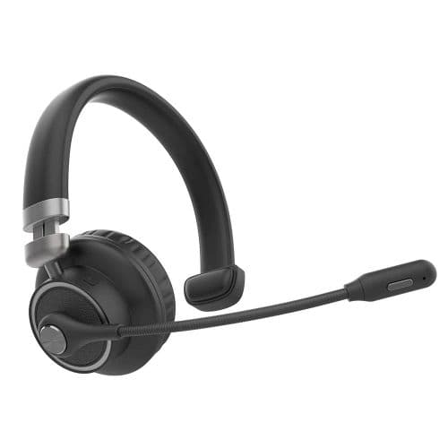 Casque Audio Sans Fil Bouton Muet Bluetooth V5.0 Antibruit Avec Microphone